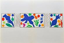 HENRI MATISSE - Original color lithograph