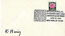 KEITH HARING - Offset lithograph