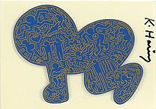 KEITH HARING - Color offset lithograph