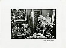 HENRI CARTIER-BRESSON - Henri Matisse with Birds, Vence, France