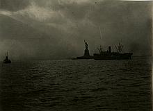 KARL STRUSS - The Statue of Liberty