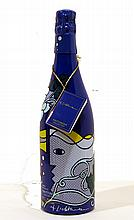 ROY LICHTENSTEIN - Taittinger Champagne Brut Bottle with box and tag