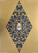 DAMIEN HIRST - The Death of God - Gold (vertical)