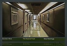 DAMIEN HIRST - The Elusive Truth - Hospital Corridor