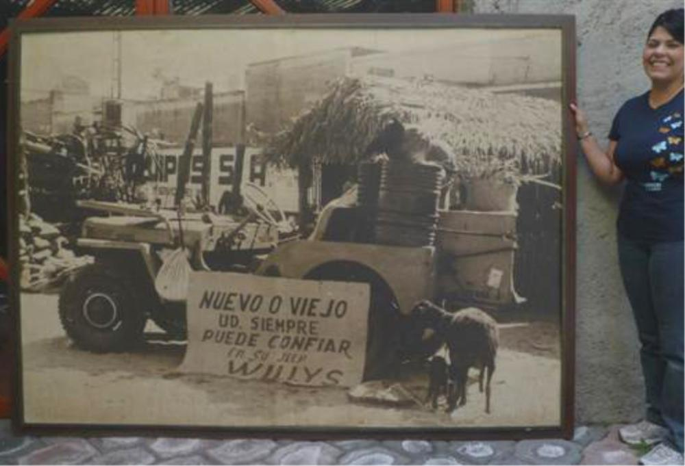 HUGO BREHME - Willys Jeep - Super grand mammoth vintage silver gelatin print