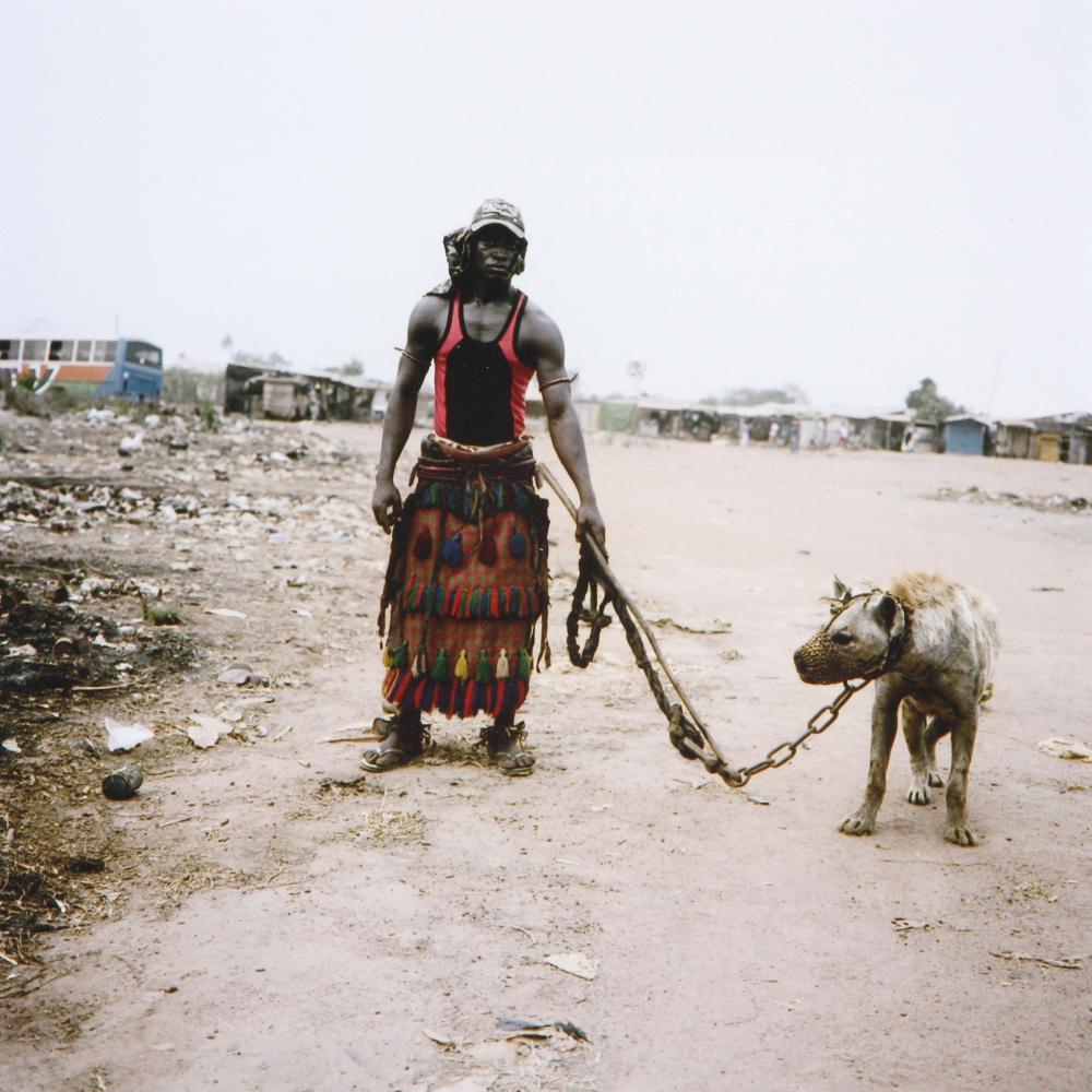 Pieter Hugo (South Africa 1976-) Abdullahi Mohammed with Mainasara, Lagos, Nigeria 2007.