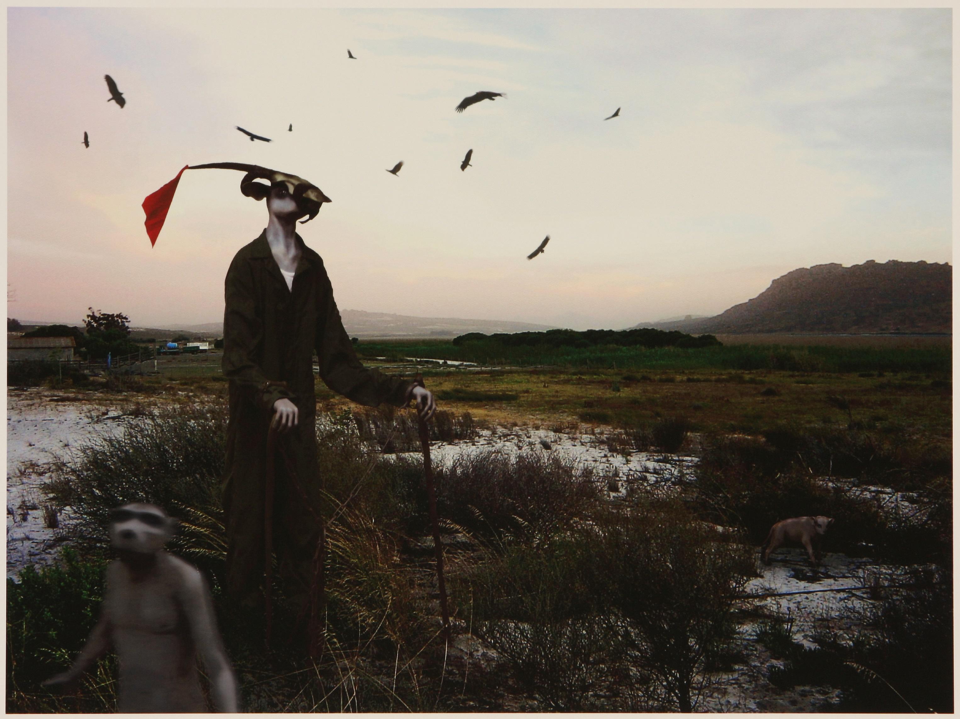 Jane Alexander (South Africa 1959-) Harbinger in Correctional Uniform, Lost Marsh, 2007