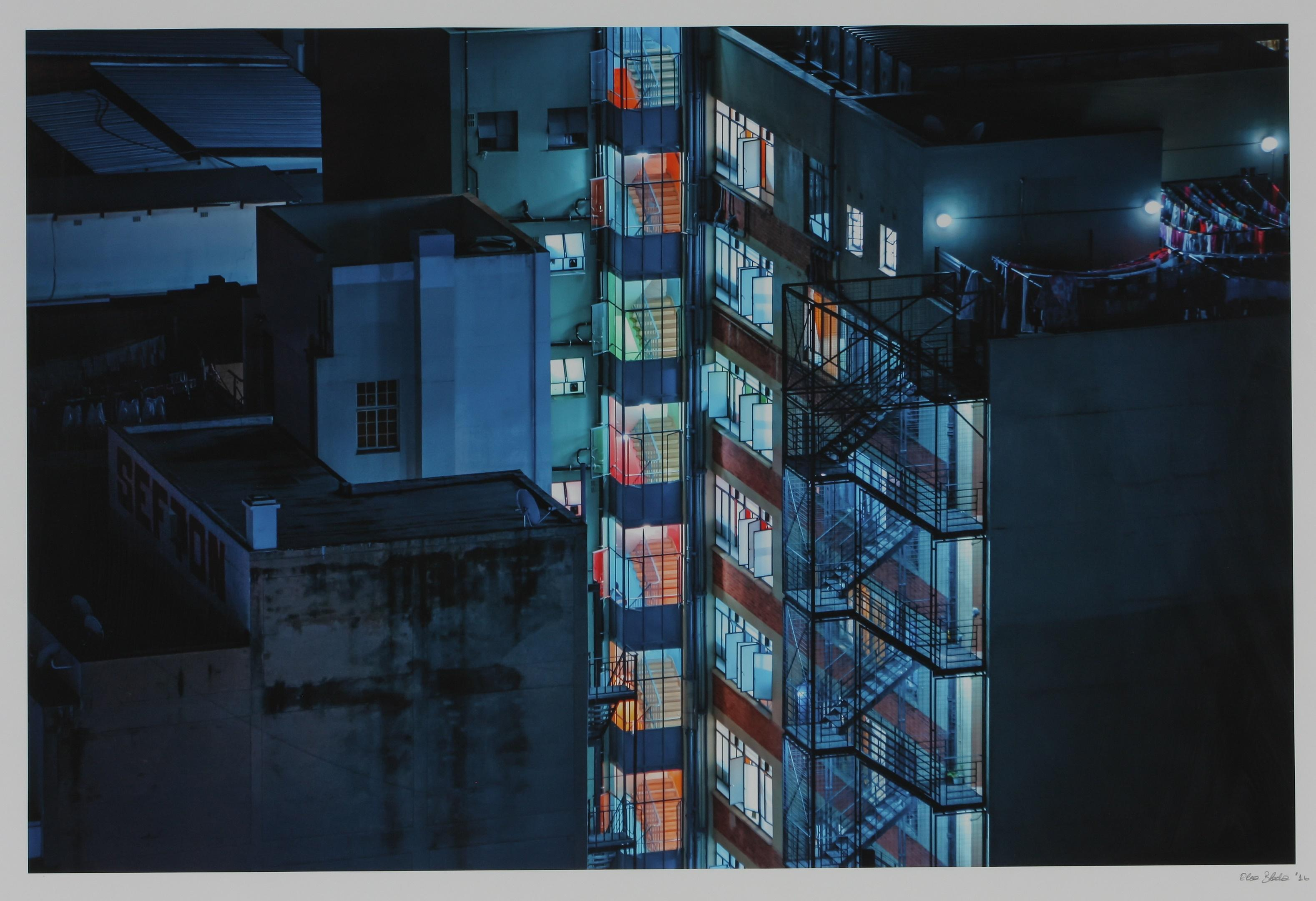 Elsa Bleda (France 1988-) Hillbrow (from the Nightscapes: Johannesburg series), 2016