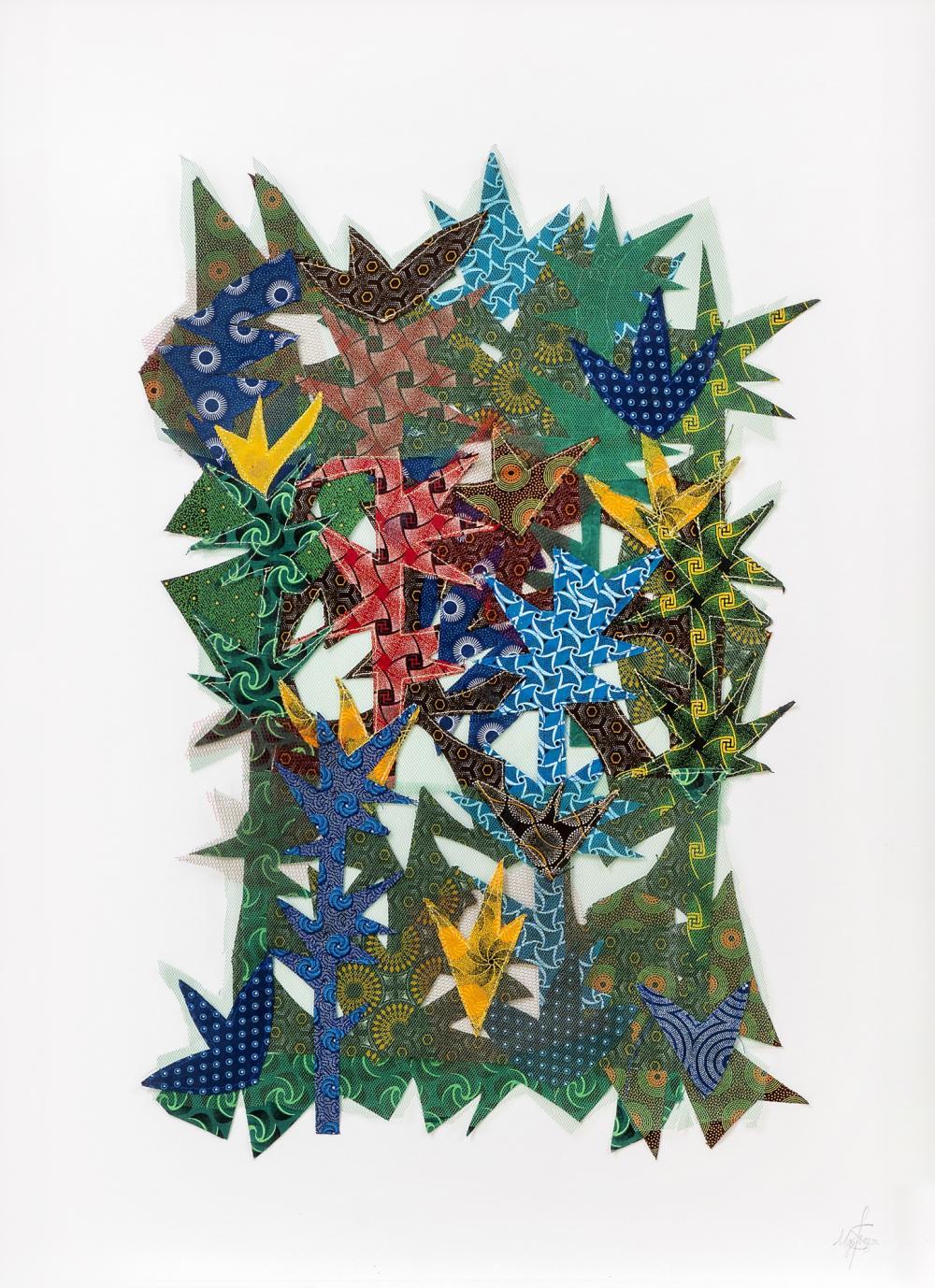 Siwa Mgoboza (South Africa 1993-) Untitled