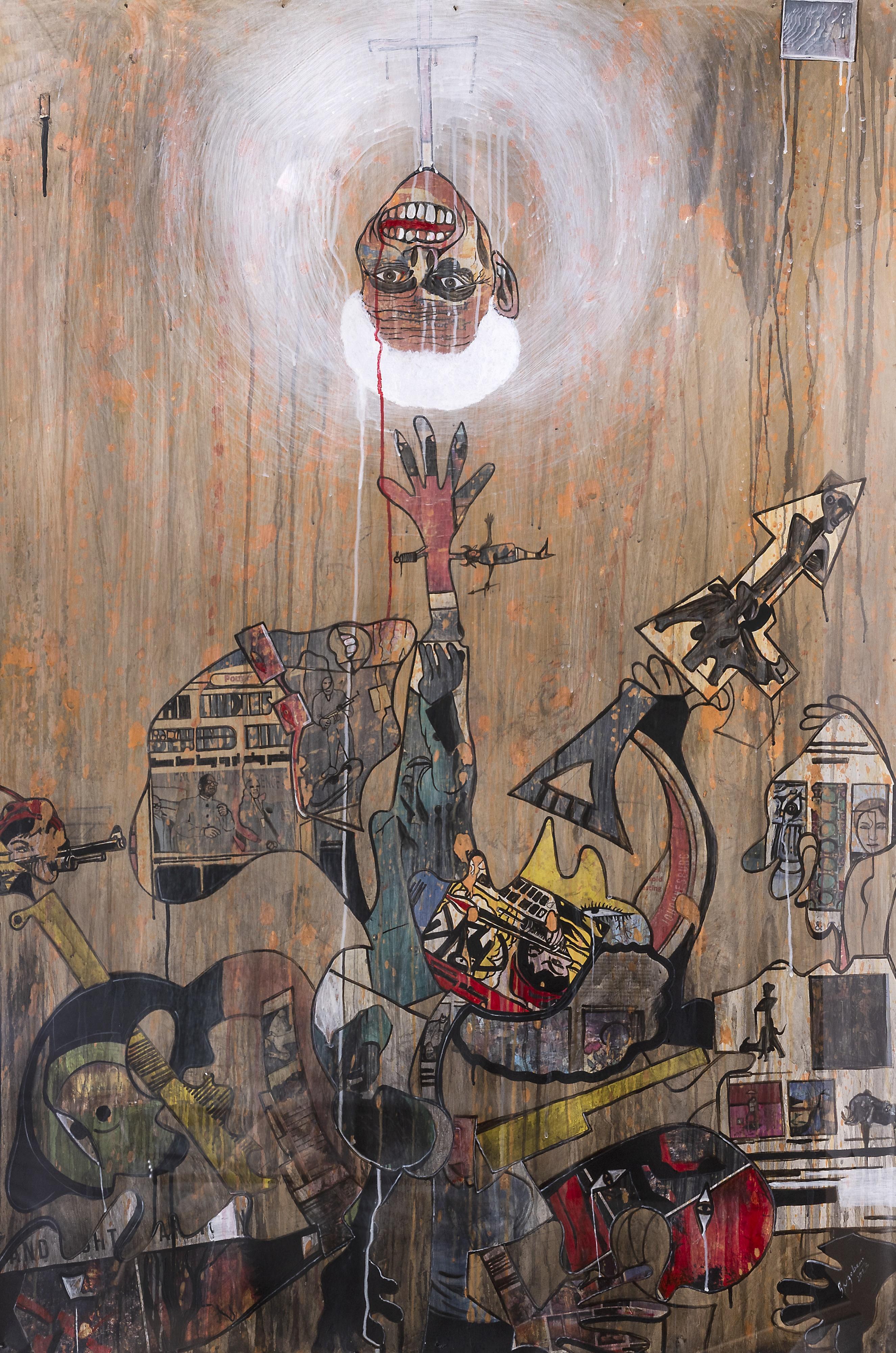 Blessing Ngobeni (South Africa 1985-) Red Dot, 2013