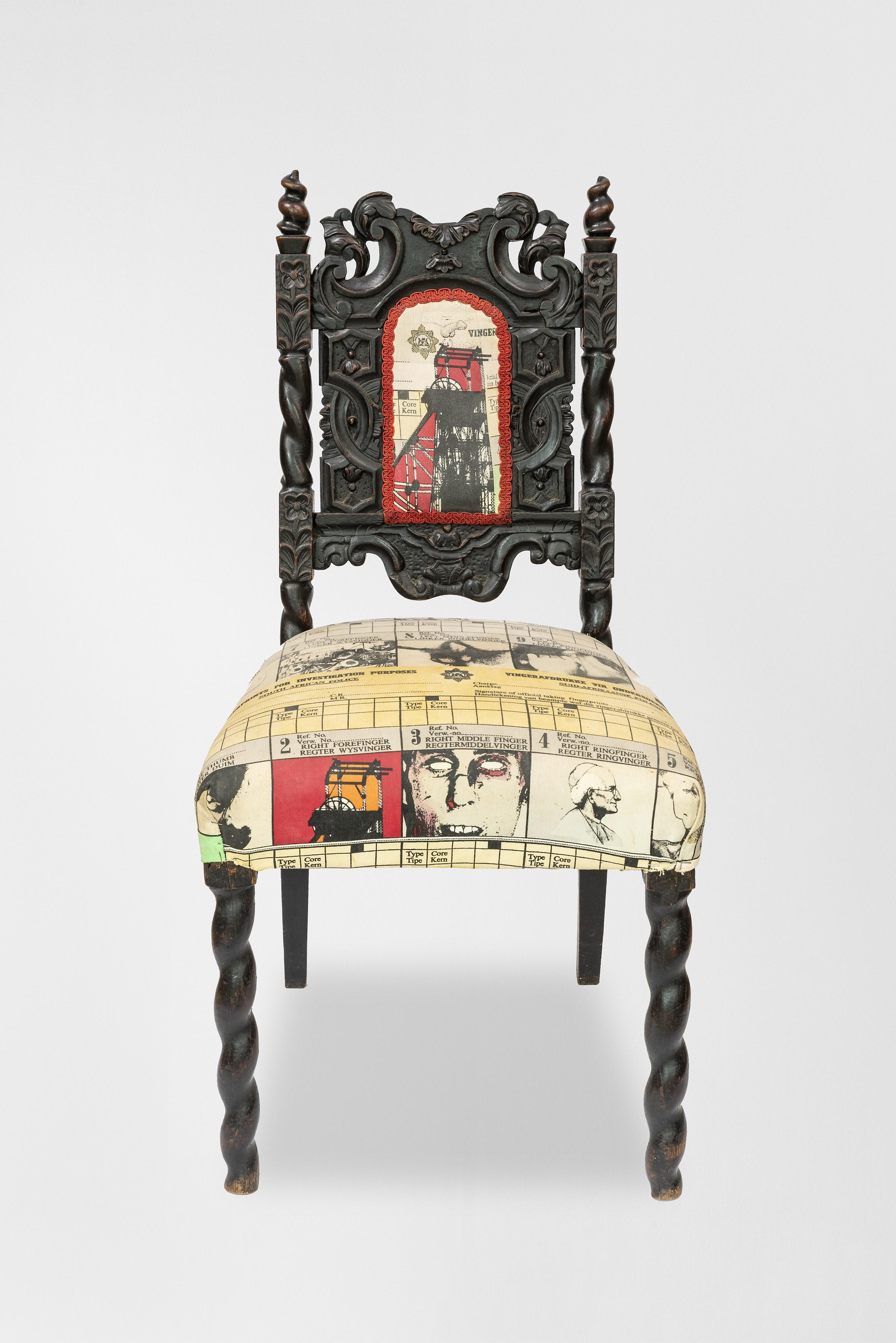 Steven Cohen (South Africa 1962-) Untitled (Chair)
