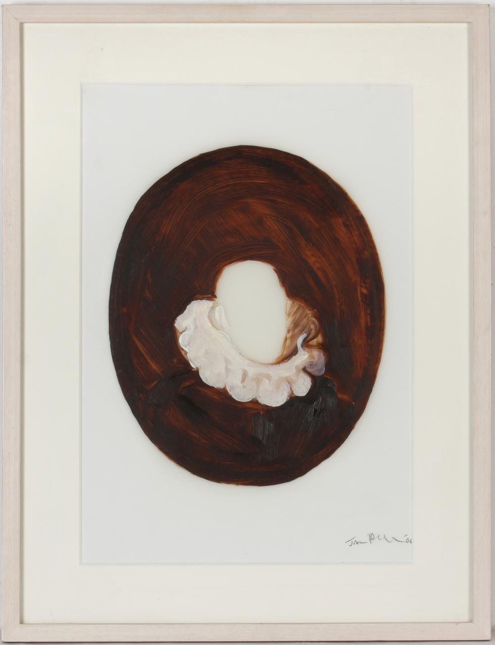 Johannes Phokela (South Africa 1966-) Head on Collar series (seven), 2006