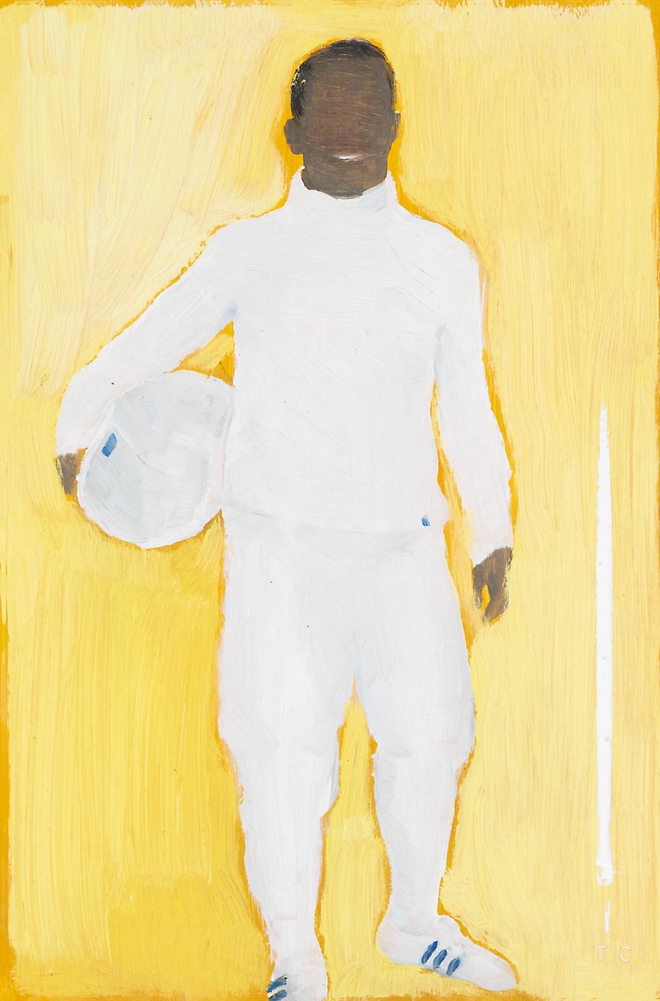 Tom Cullberg (Sweden 1972-) Fencer, 2004