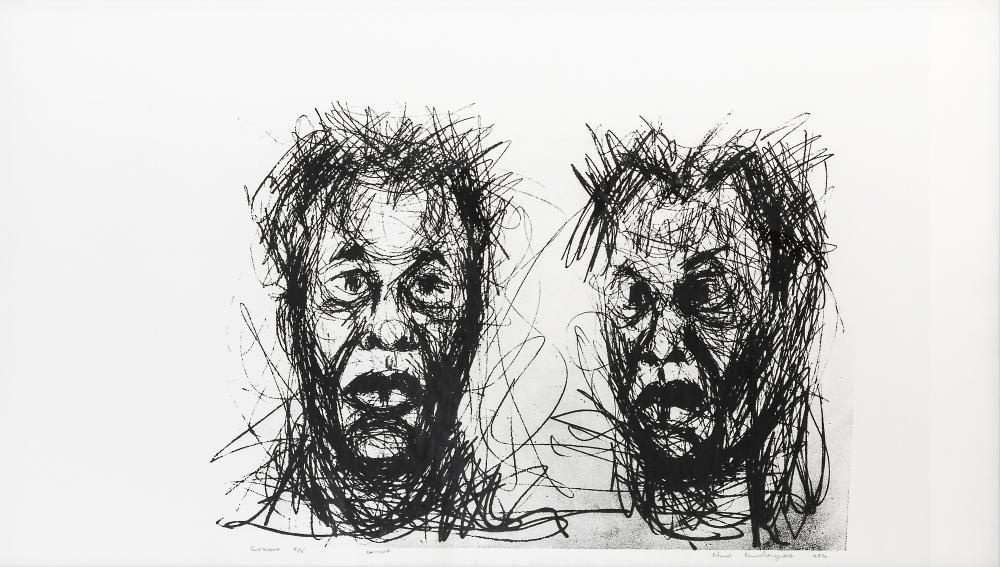 Admire Kamudzengerere (Zimbabwe 1981-) Untitled, 2016
