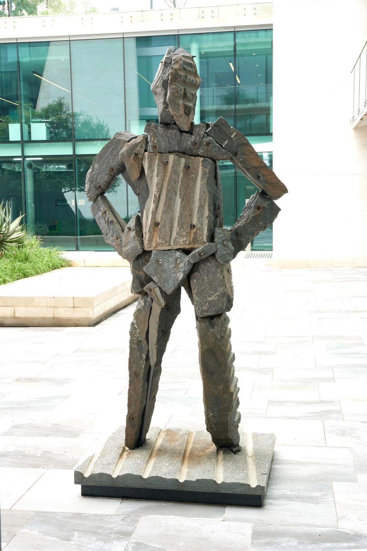 Angus Taylor, Standing man