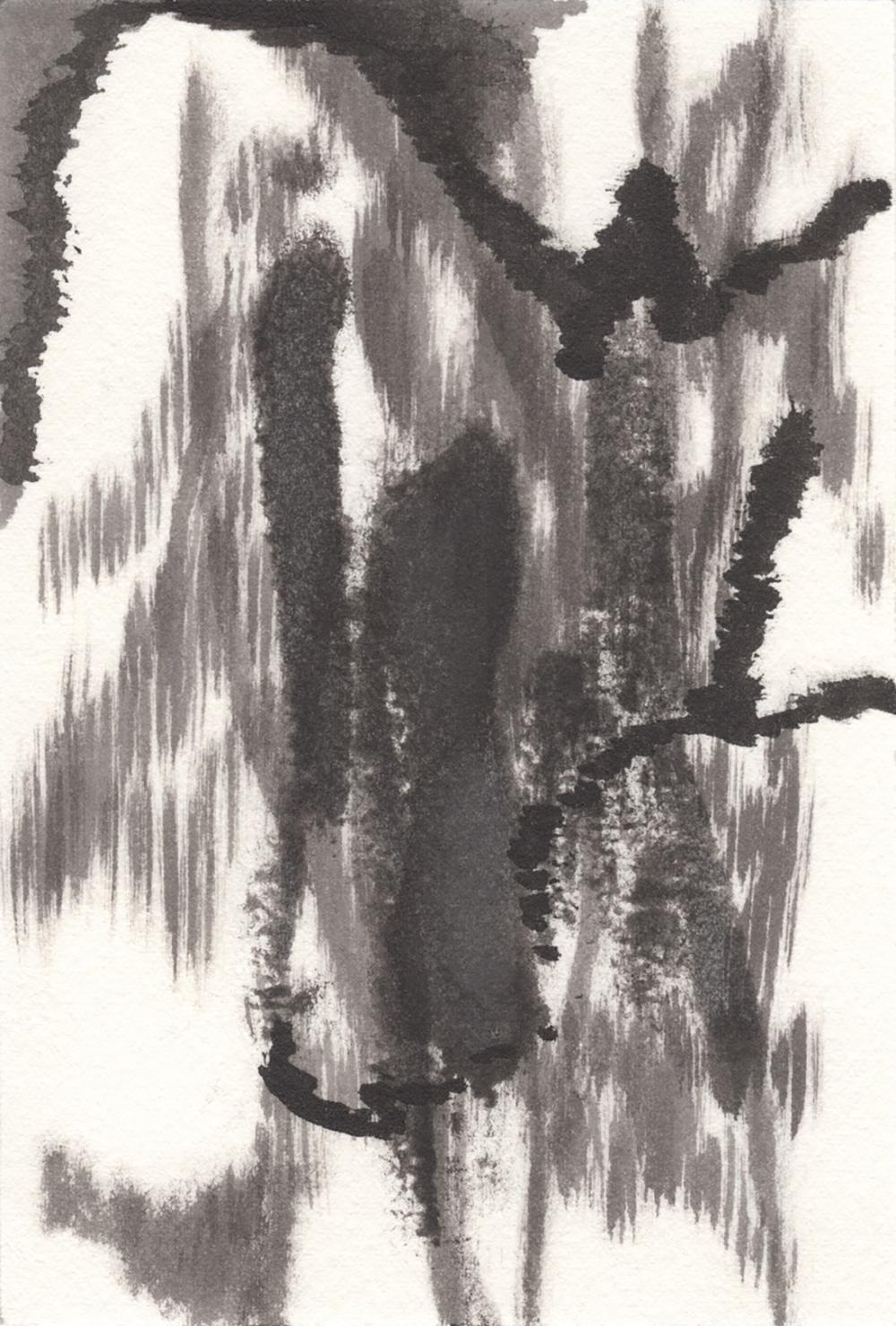 Julie Mehretu (America 1970-) Untitled, 2021
