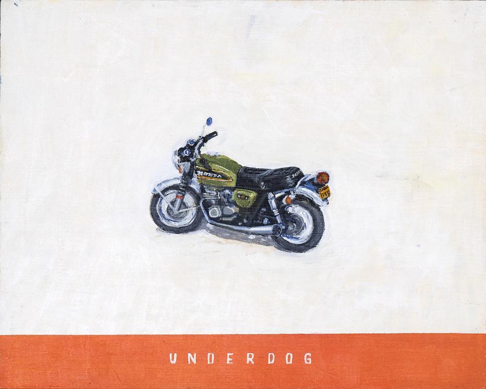 Tom Cullberg (Sweden 1972-) Underdog, 2020