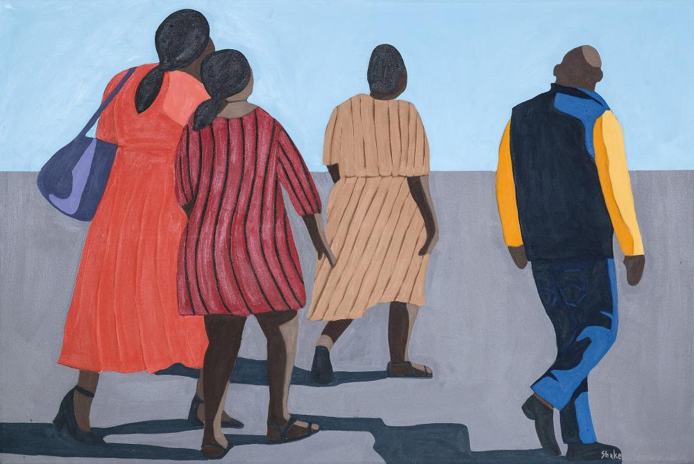 Meshack Shakes Tembani (South Africa 1975-) Going Home, 2019