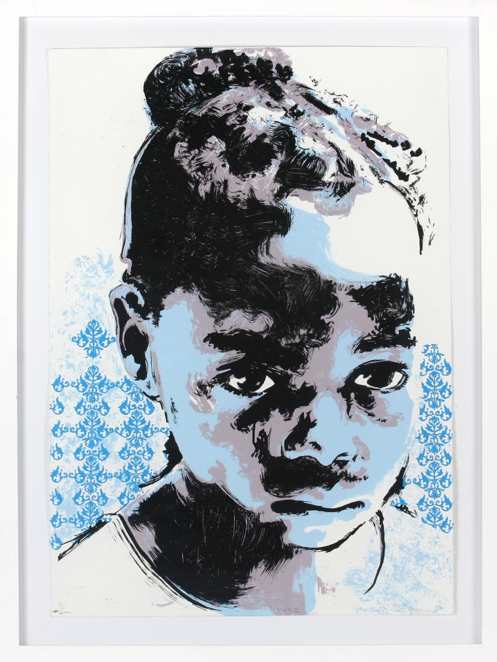 Bambo Sibiya (South Africa 1986-) Likwe II, 2014