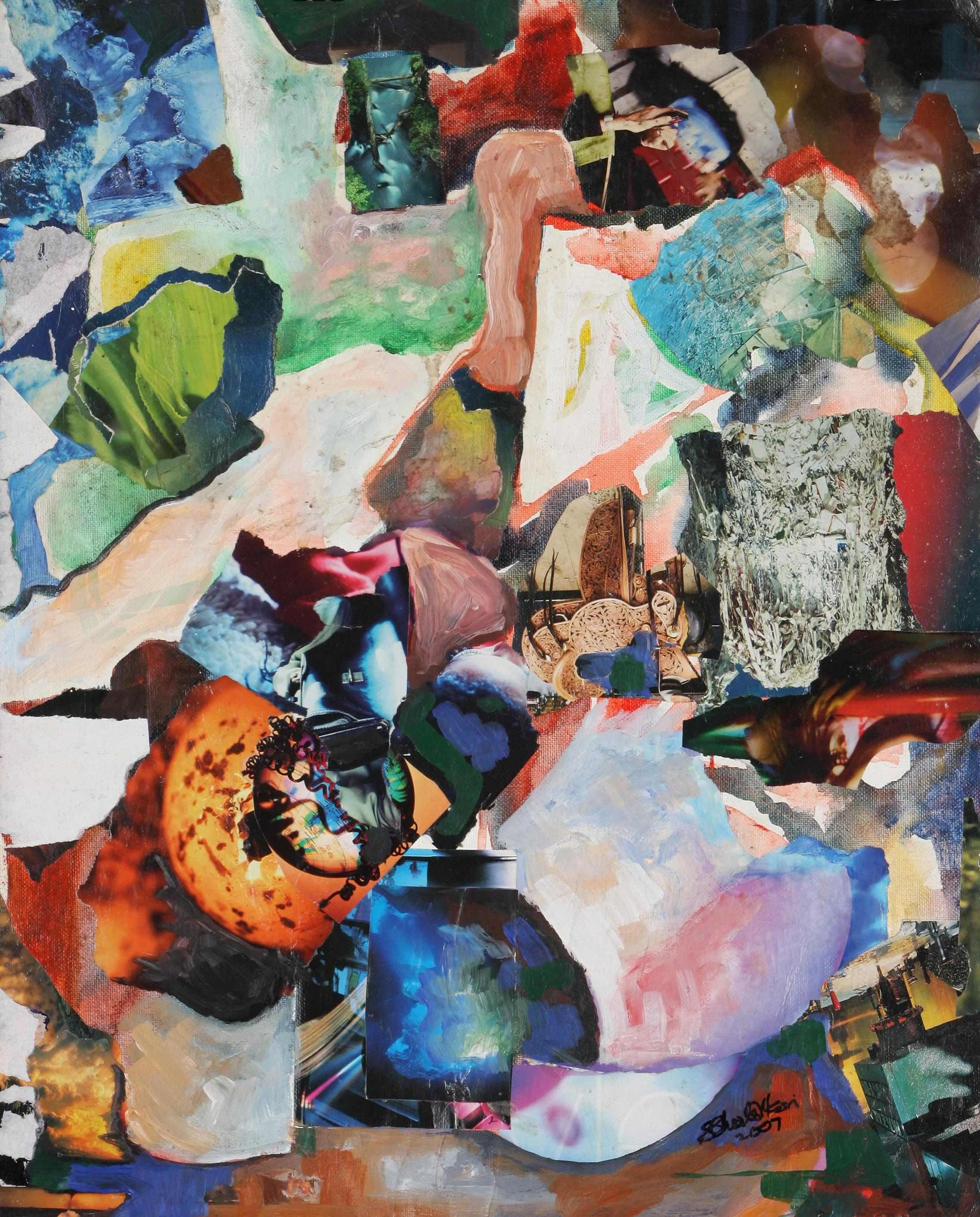 Charles Nkosi (South Africa 1949-) A Stitch in Time (Umathunga), 2017