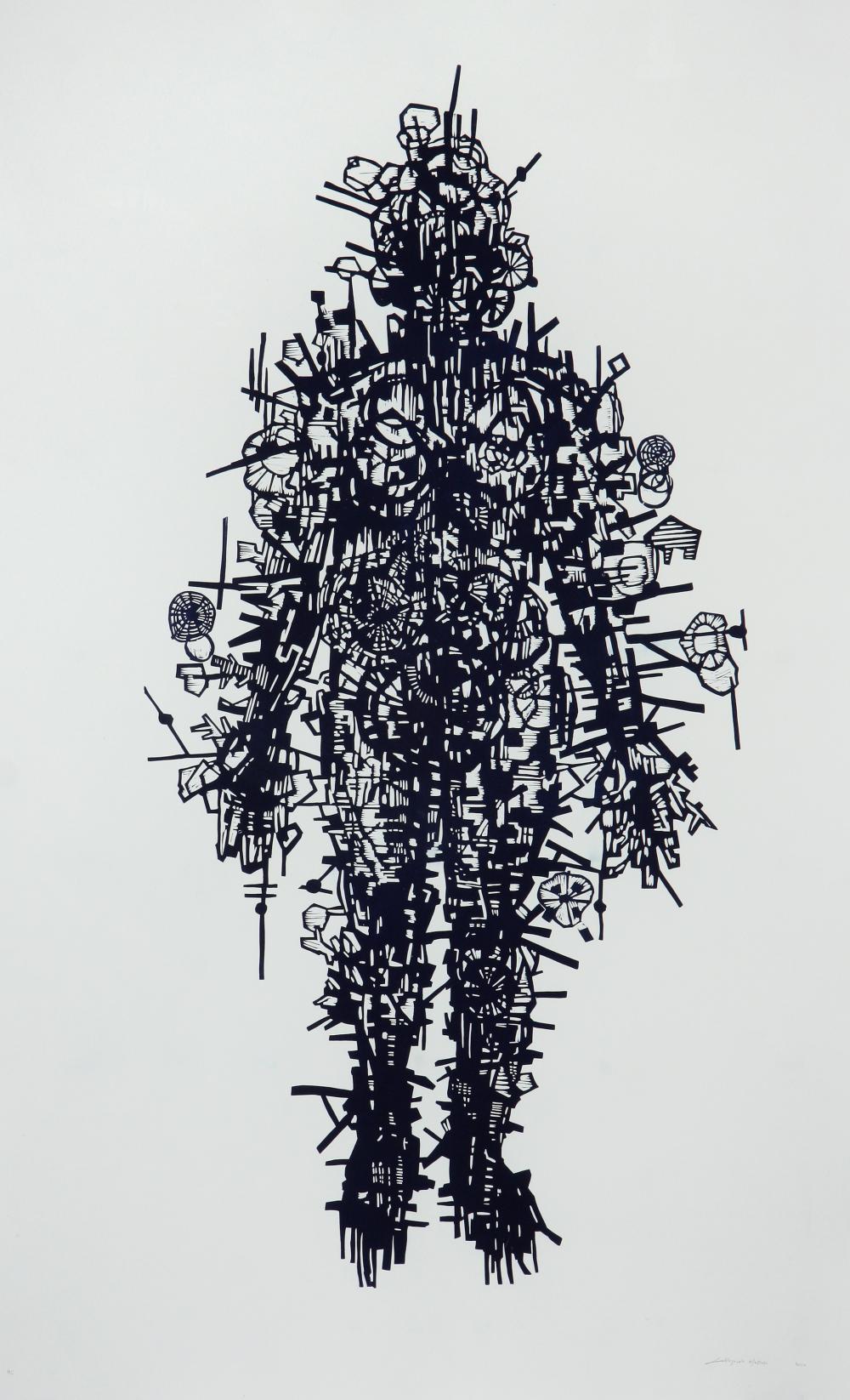 Lehlogonolo Mashaba (South Africa 1983-) Untitled II, 2020