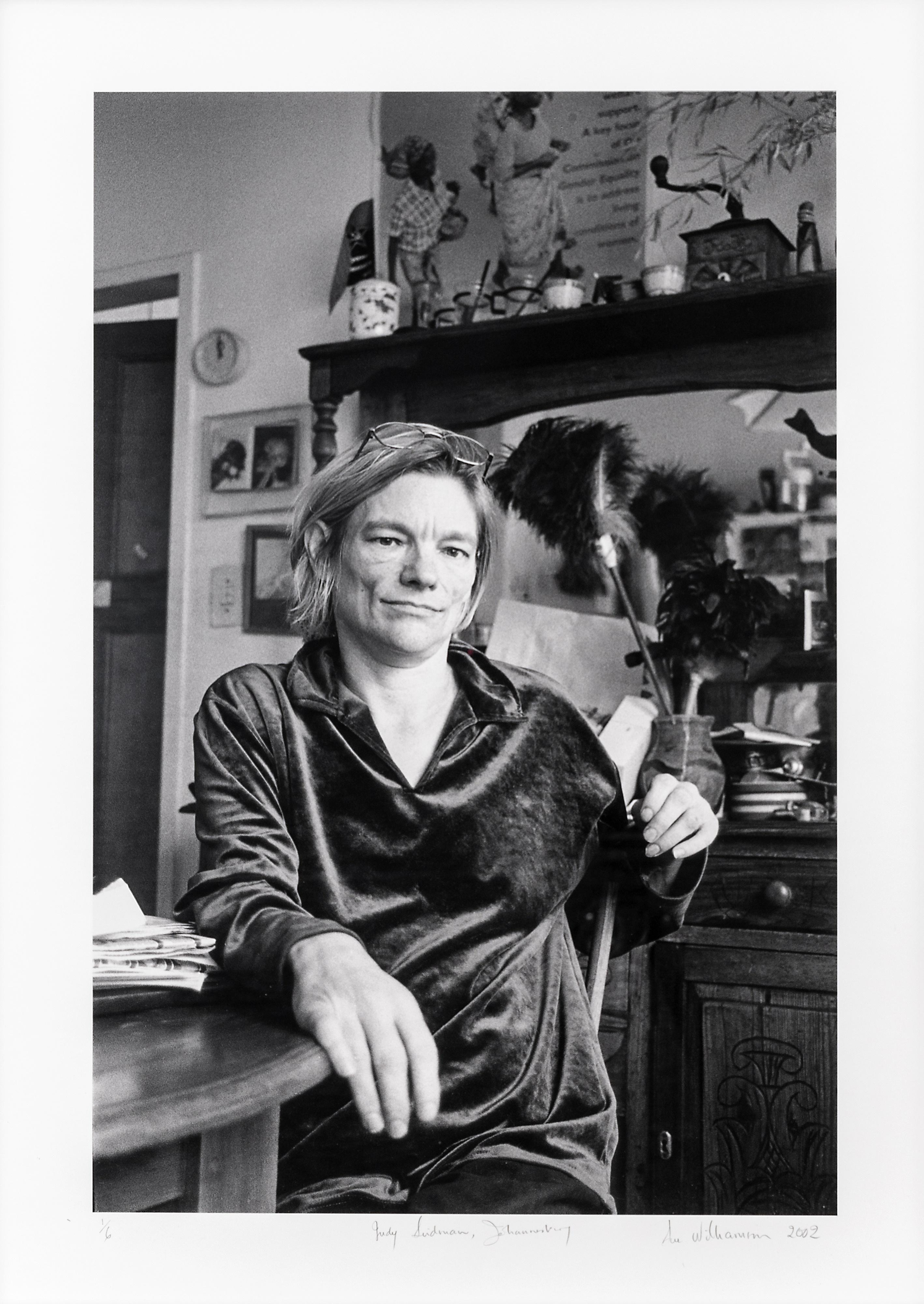 Sue Williamson (South Africa 1941-) Judy Seidman, Johannesburg, 2002