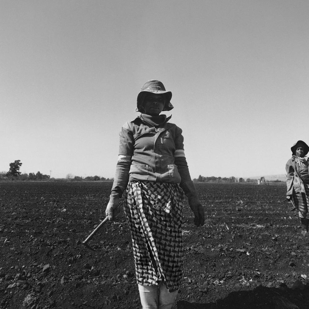 Mohau Modisakeng (South Africa 1986-) Molemi (from the Farm Series), 2020
