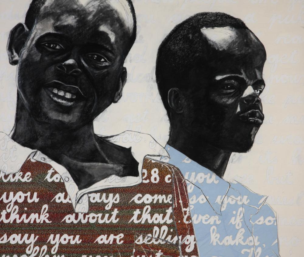 Sharlene Khan (South Africa 1977-) Blind Help, 2011