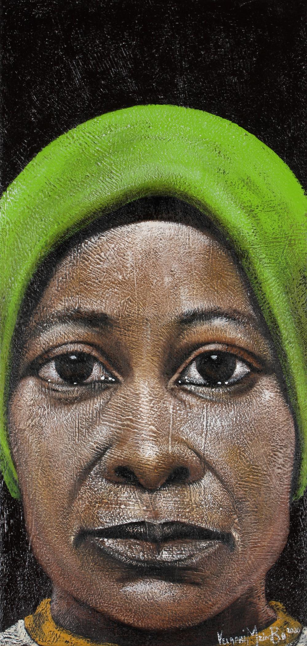 Velaphi Mzimba (South Africa 1959-) Ntombikhona, 2020
