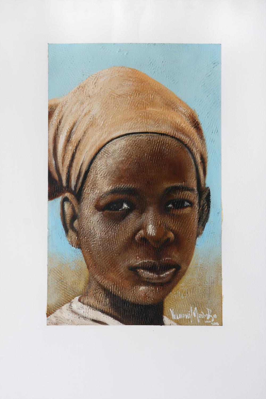 Velaphi Mzimba (South Africa 1959-) Ntombazane, 2016