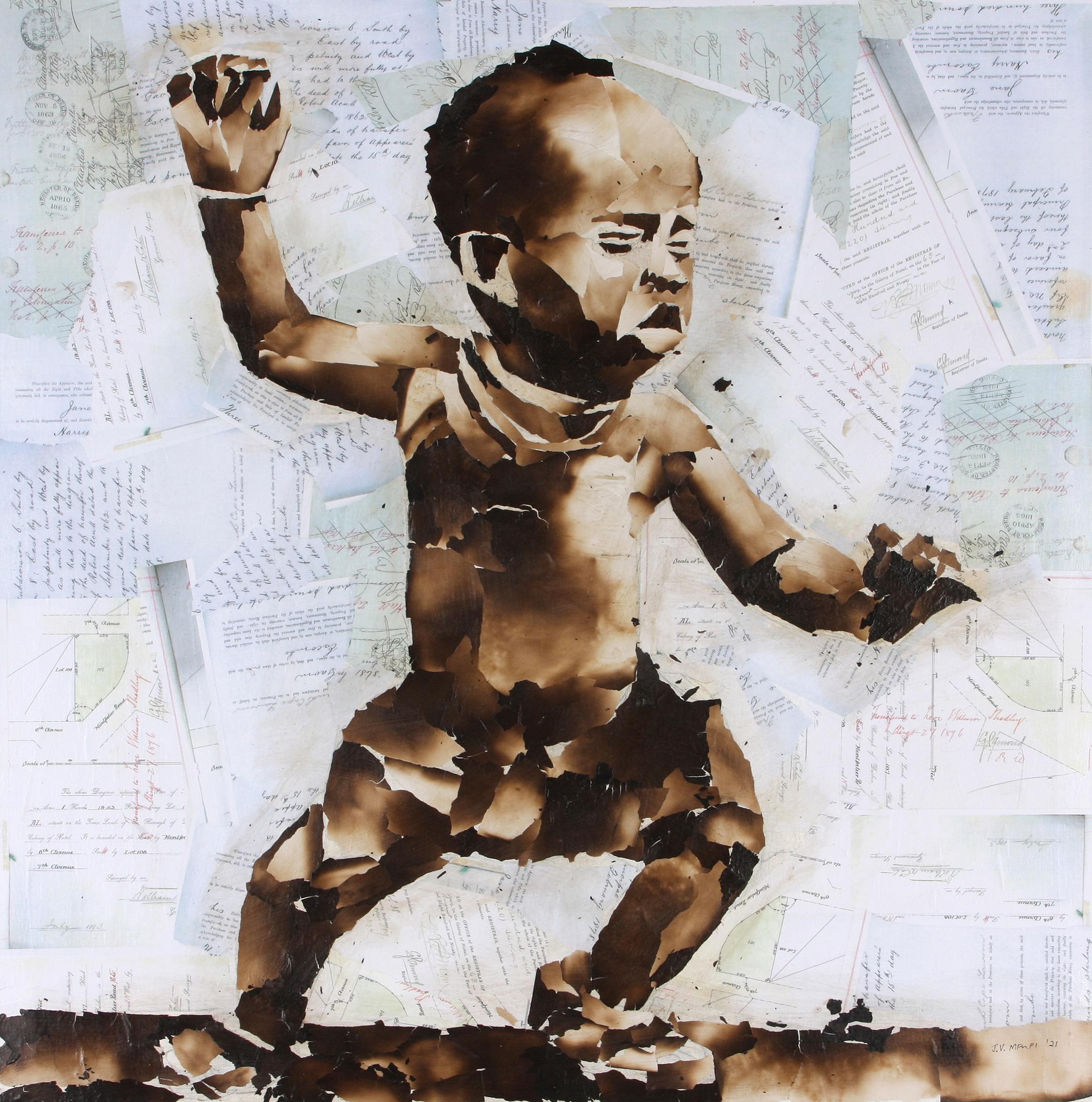 John Vusi Mfupi (South Africa 1977-) Birthday Celebration, 2021