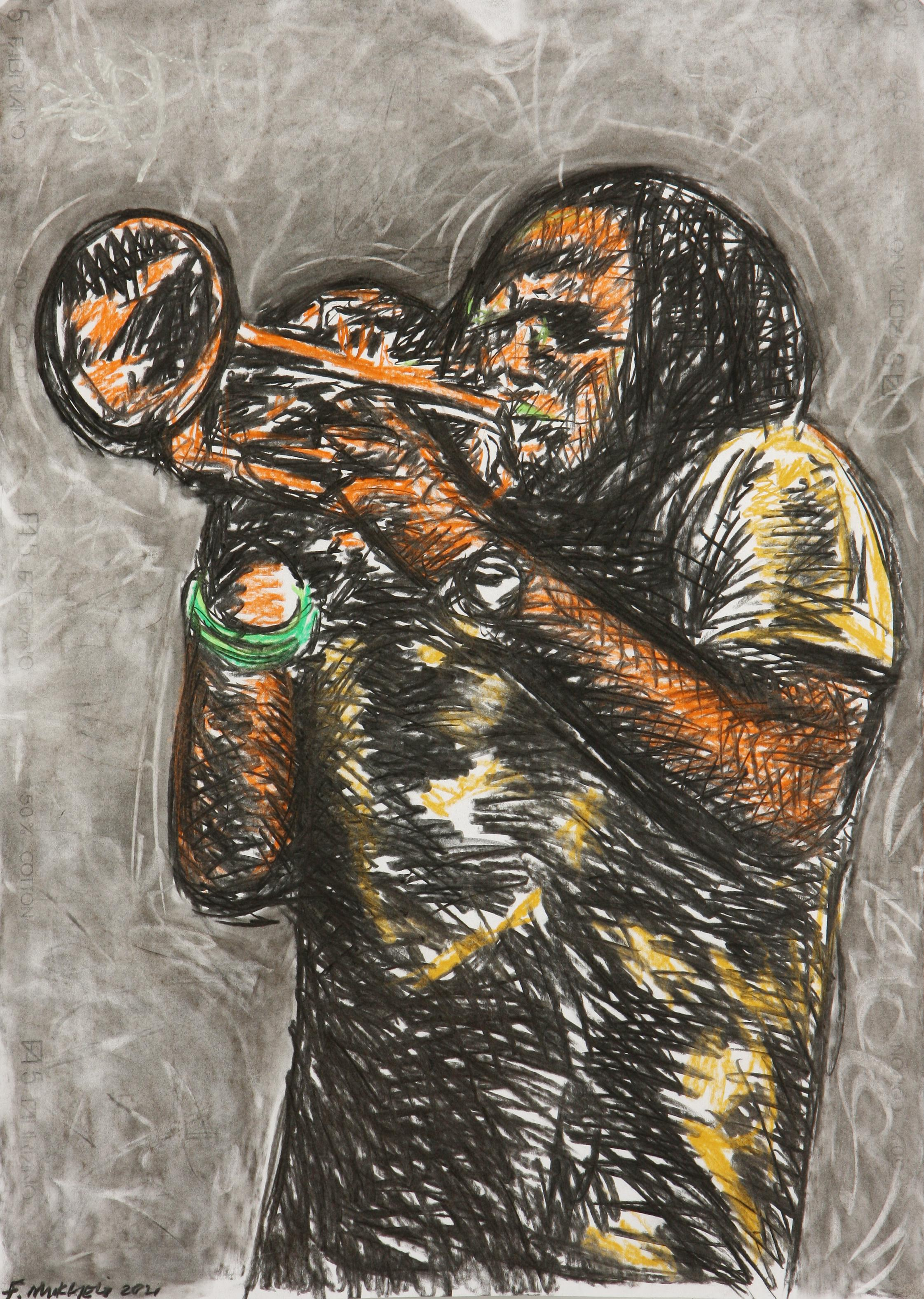 Fhatuwani Mukheli (South Africa 1985-) The African Symphony, 2021