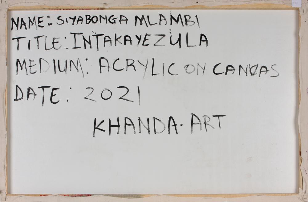 Siyabonga Mlambi (South Africa 1990-) Intaka yezula, 2021