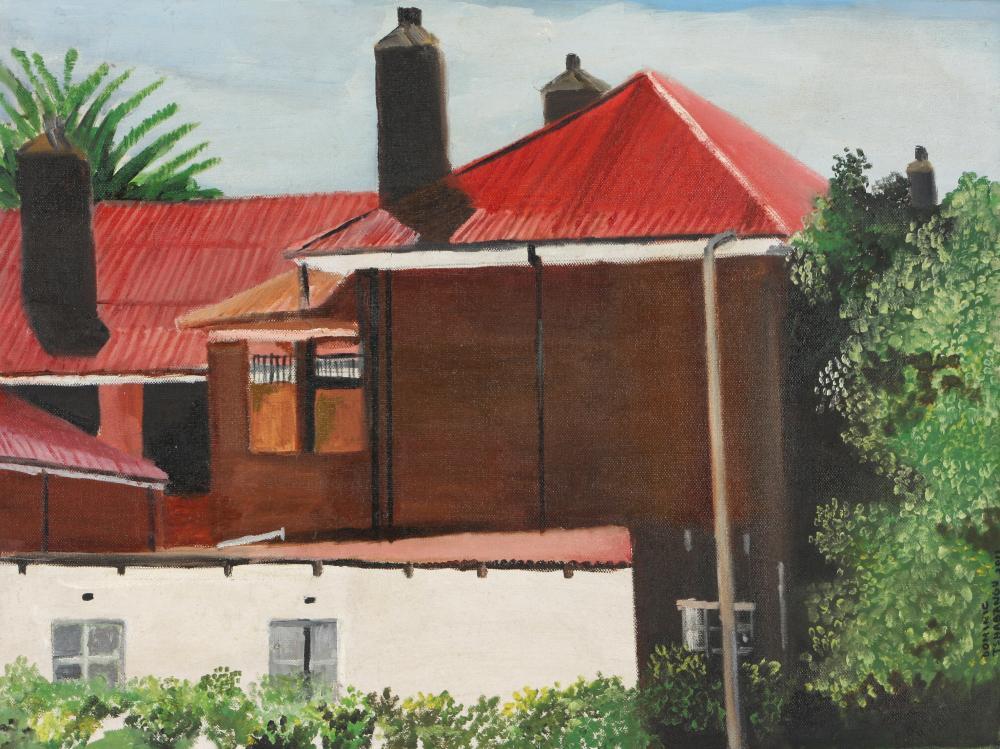 Dominic Tshabangu (South Africa 1965-) School, 2011