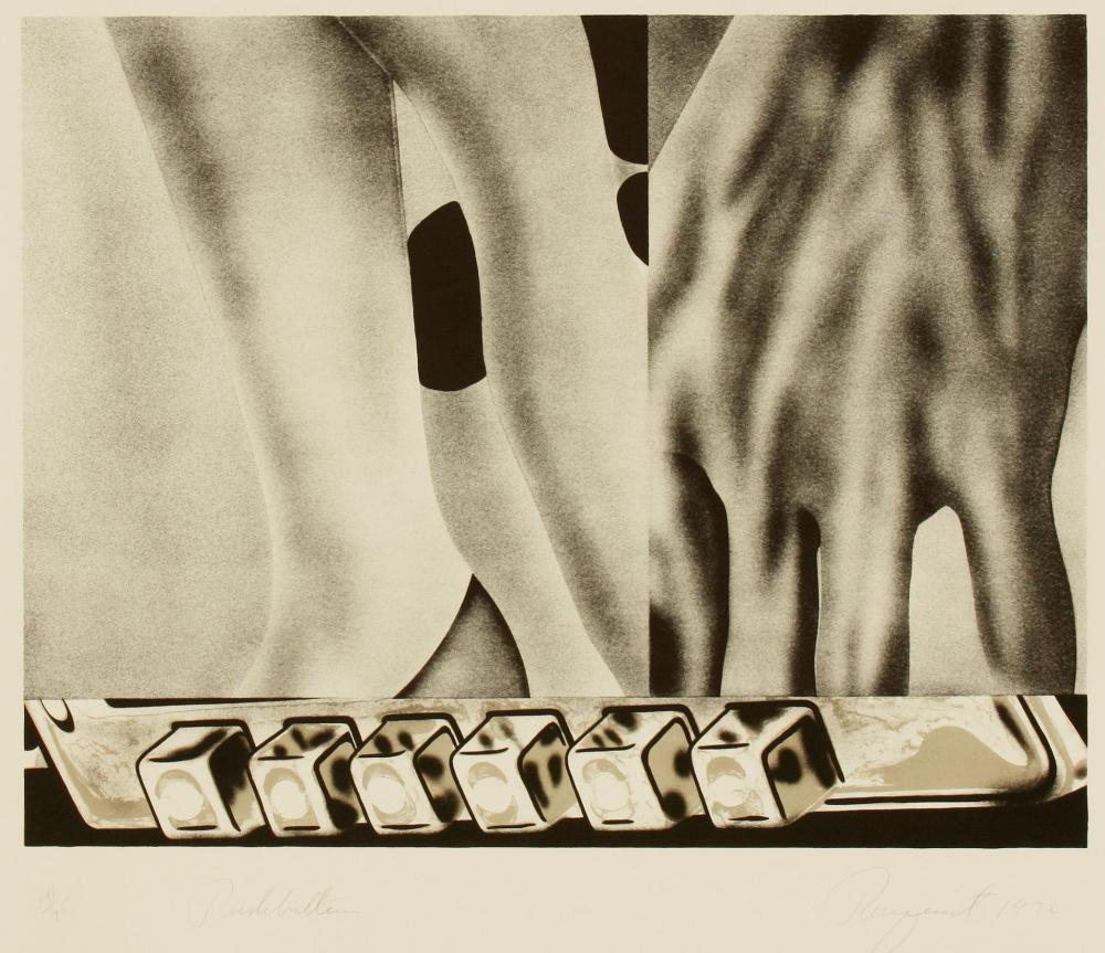 James Rosenquist (America 1933-2017) Push Buttons, 1972
