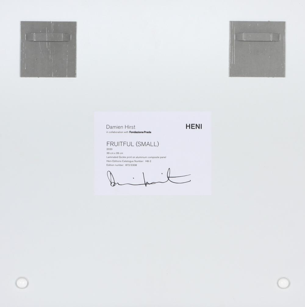 Damien Hirst (United Kingdom 1965-) Fruitful (small), 2020