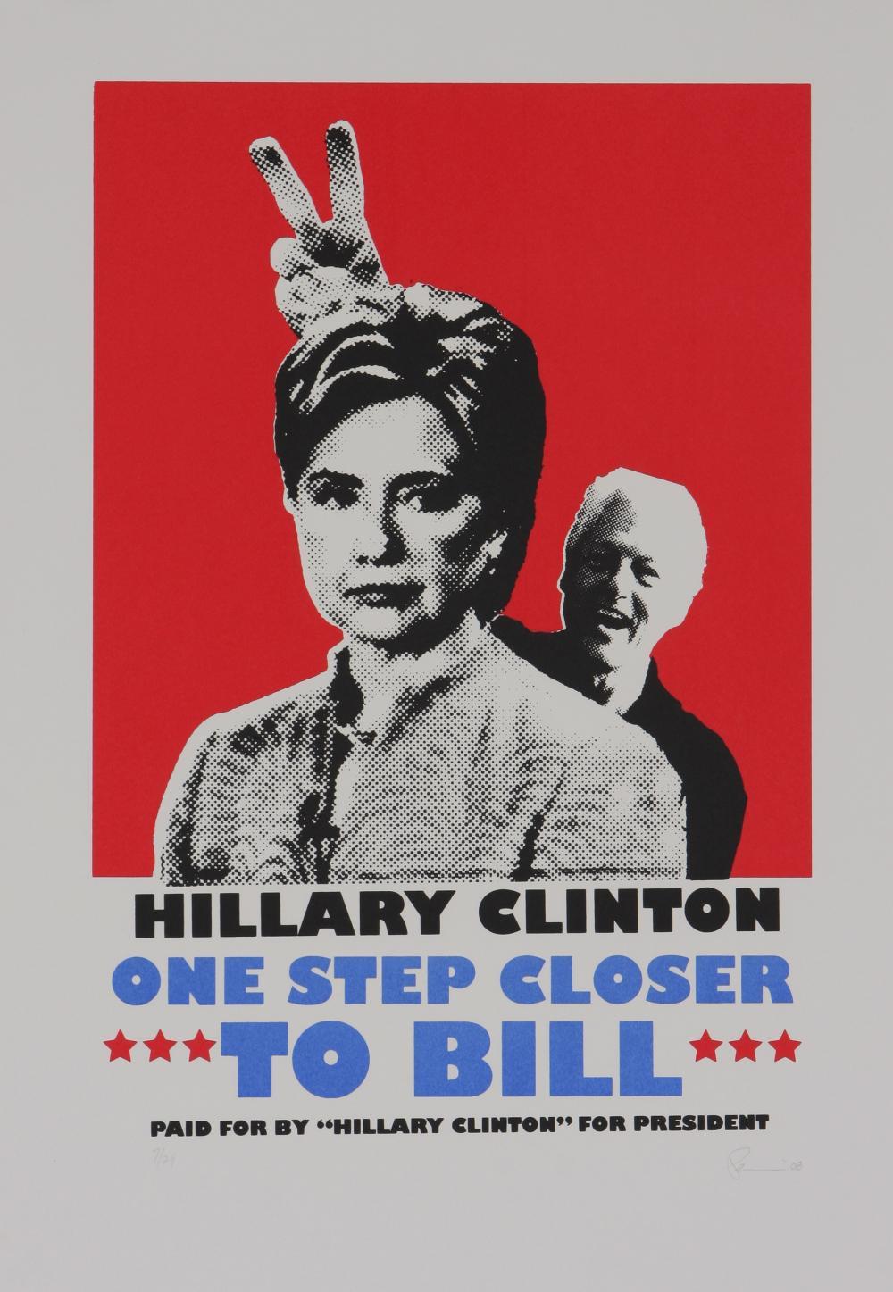 Fahamu Pecou (America 1975-) Hilary Clinton, 2008