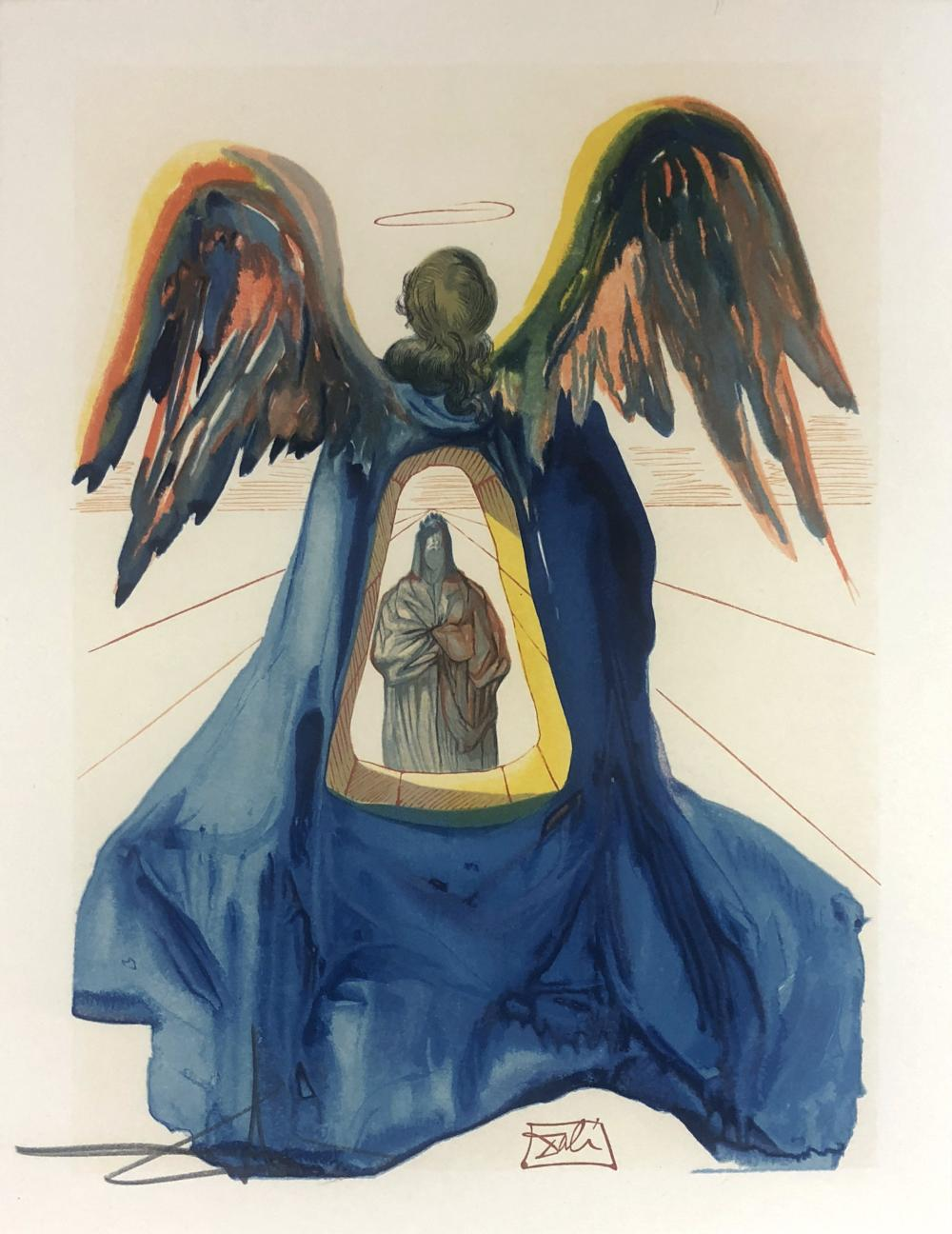 Salvador Dali (Spain 1904-1989) Dante Purified and The Smoke of Irascibility (from The Divine Comedy) (two works), 1963/1964