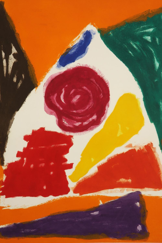 John Hoyland (United Kingdom 1934-2011) Bouquet, 1983