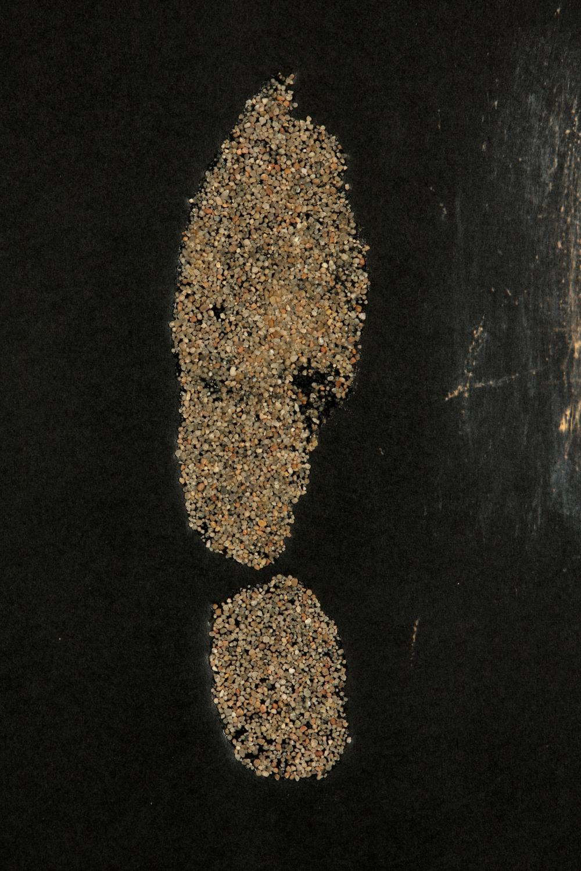 Antoni Tàpies (Spain 1923-2012) Empreintes de pas (Footprints), 1972