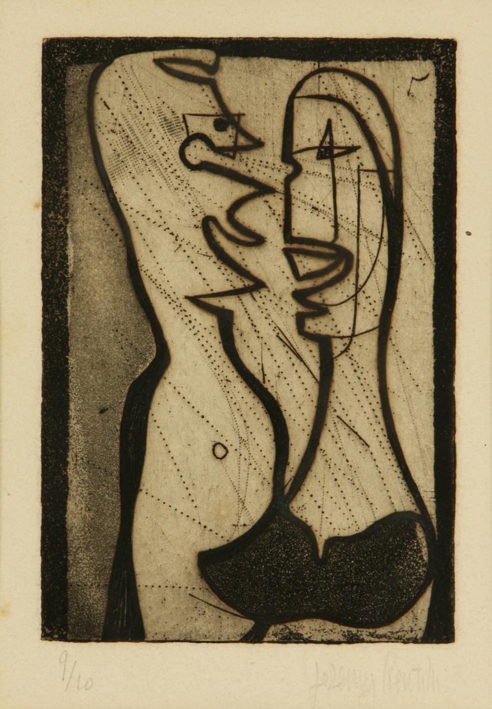 Jeremy Gentilli (United Kingdom 1926-) Two figures
