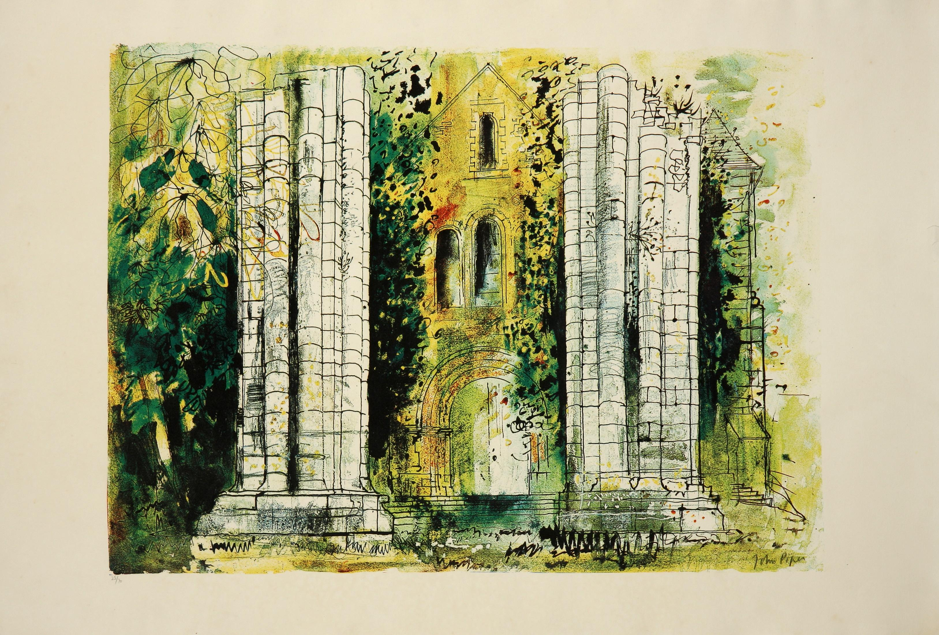John Piper (United Kingdom 1903-1992) St Raphael, Dordogne, 1968