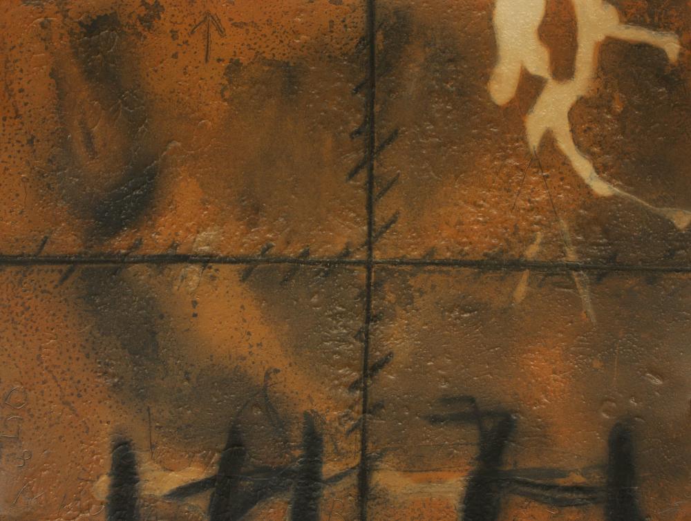 Antoni Tàpies (Spain 1923-2012) Matière (Material), 1972