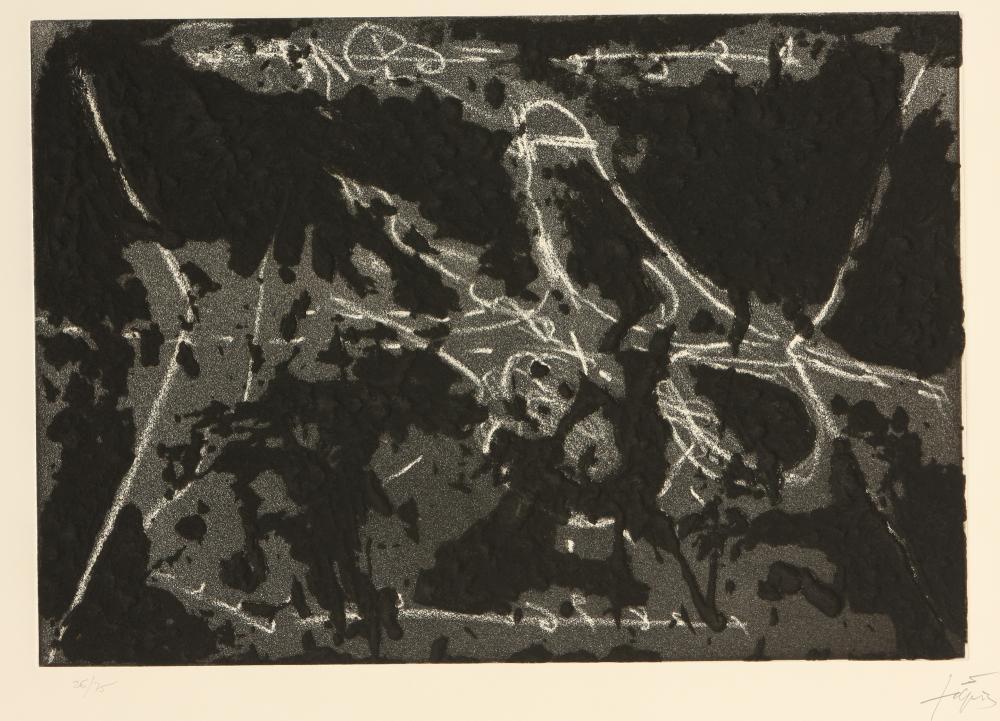Antoni Tàpies (Spain 1923-2012) Matière et graffiti (Material and Graffiti), 1969