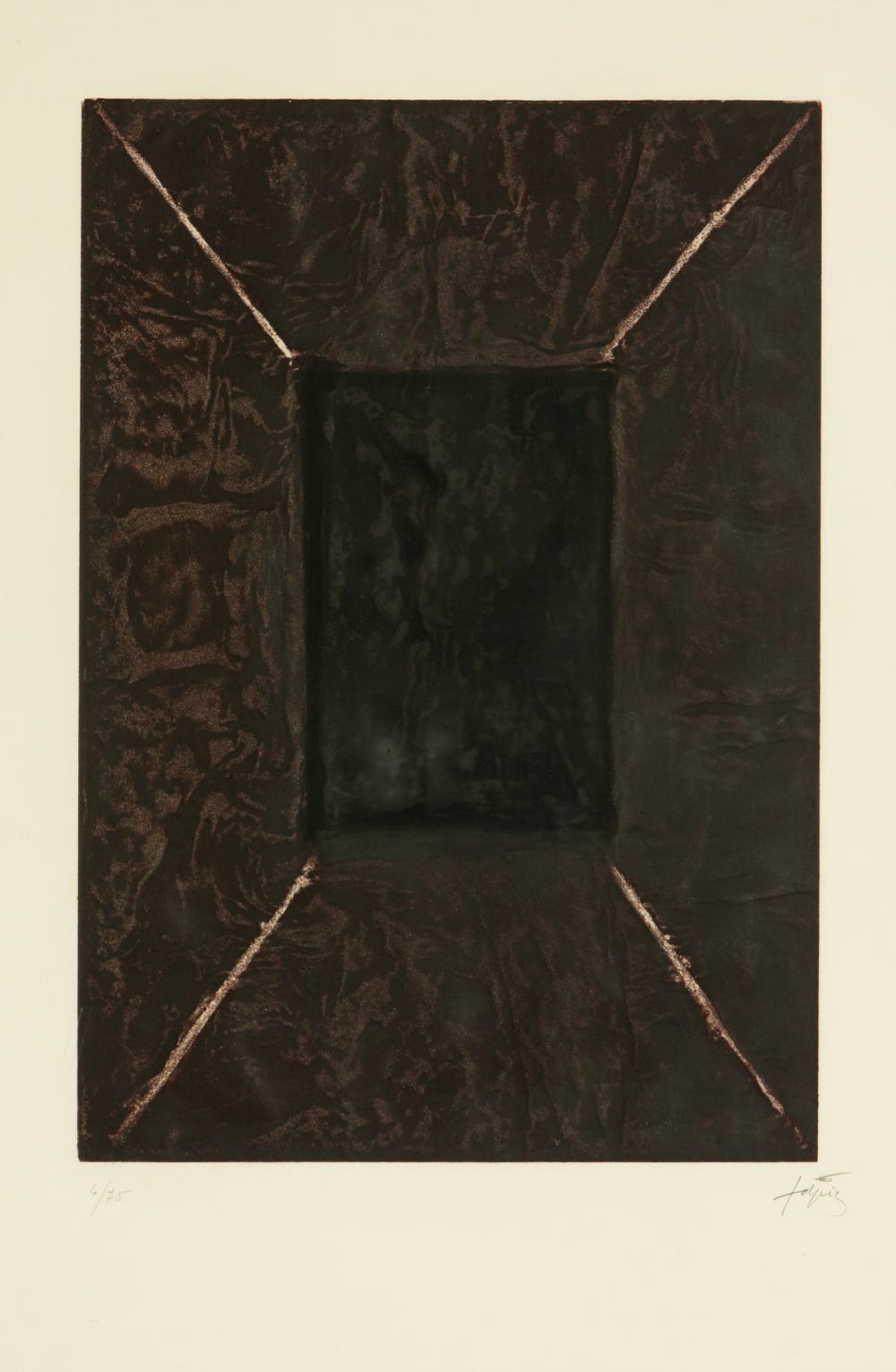 Antoni Tàpies (Spain 1923-2012) La Porte (The Door), 1969