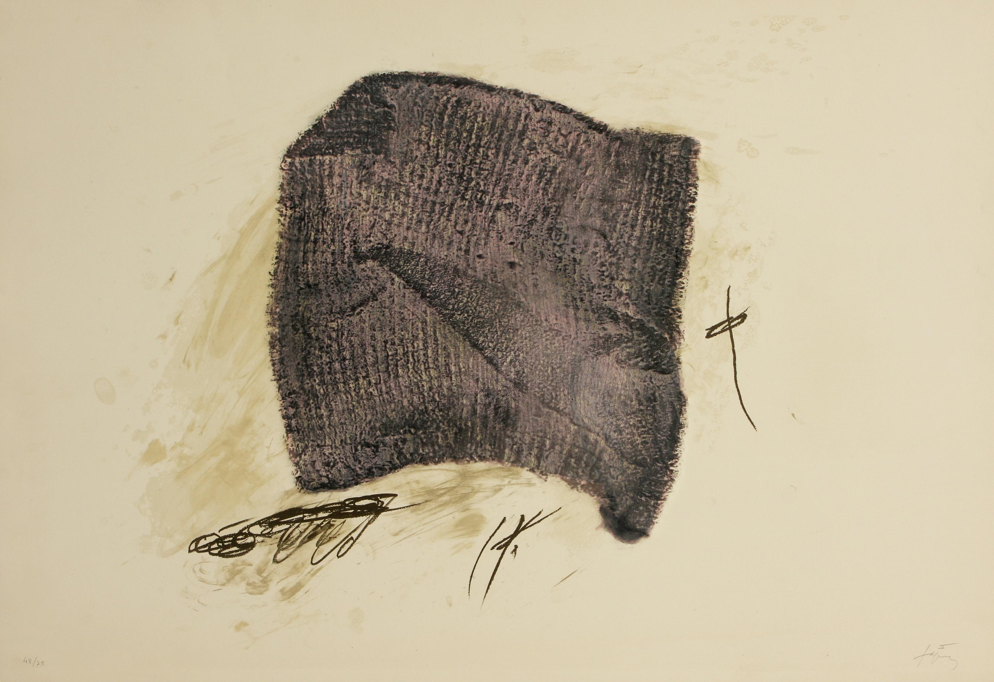Antoni Tàpies (Spain 1923-2012) La Serpillière (The Mop), 1971