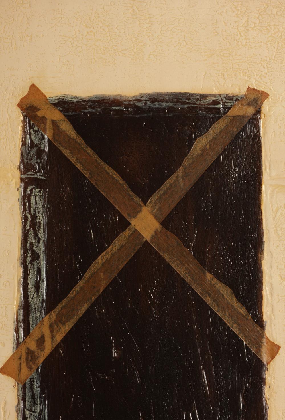 Antoni Tàpies (Spain 1923-2012) La Grande Porte (The Great Door), 1972