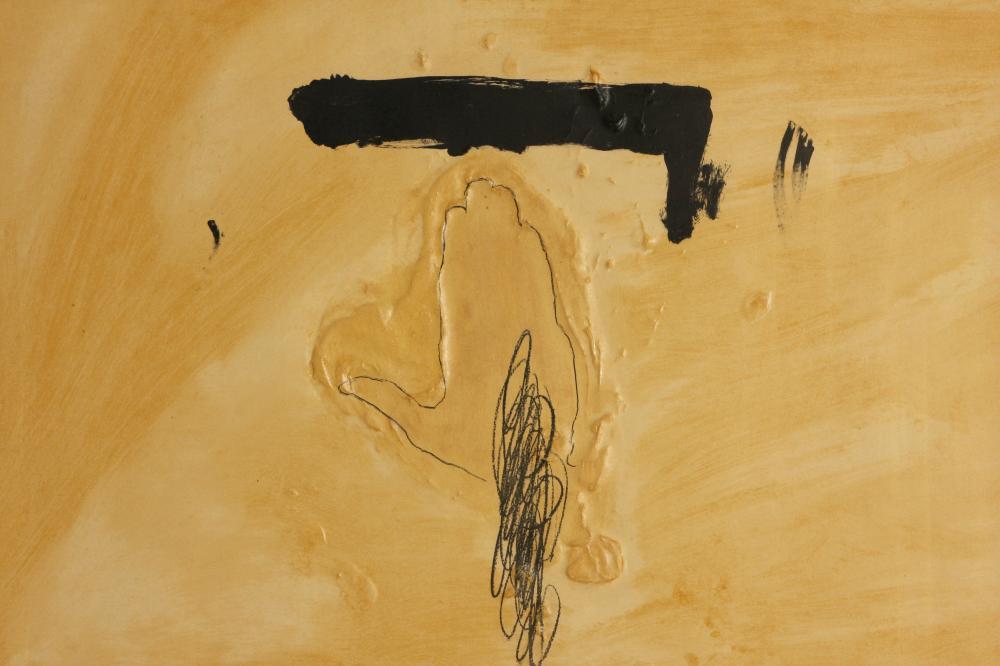 Antoni Tàpies (Spain 1923-2012) La Main (The Hand), 1972