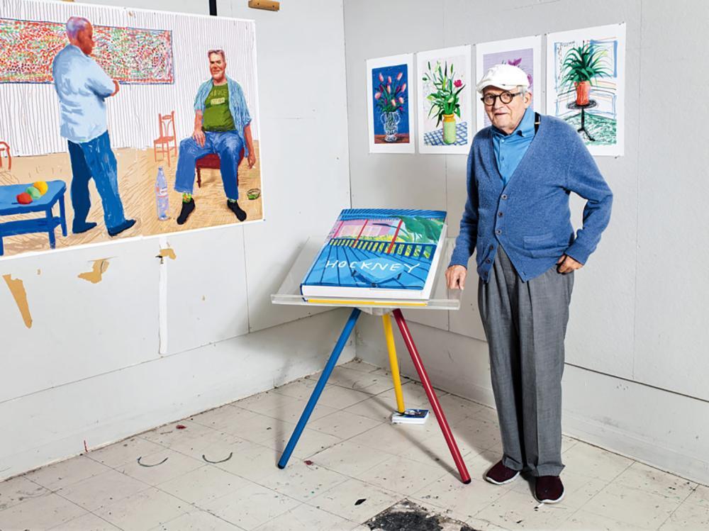 David Hockney (United Kingdom 1937-) David Hockney: A Bigger Book (2016) by David Hockney and Werner Holswerth