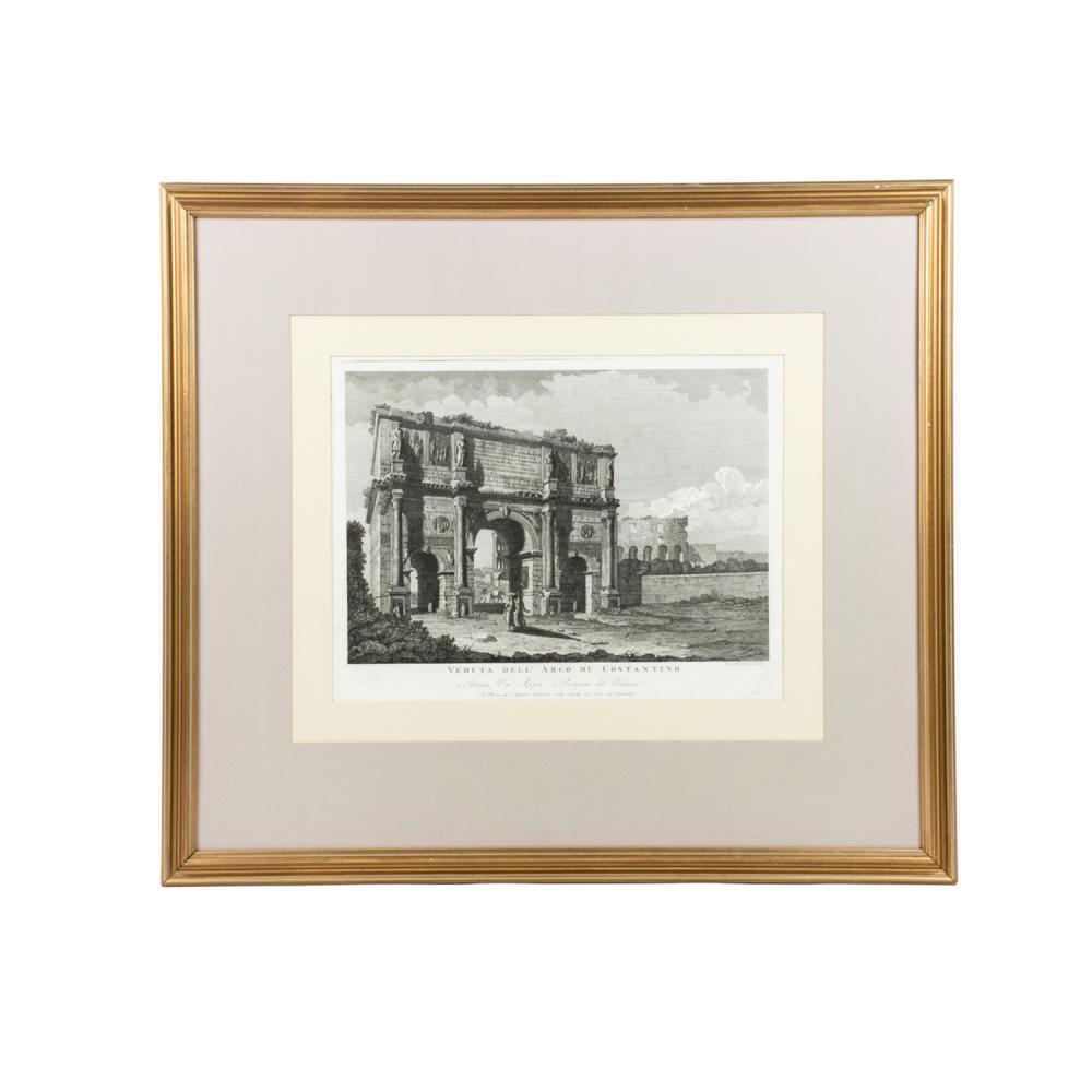 18th C. Engraving by Domenico Pronti